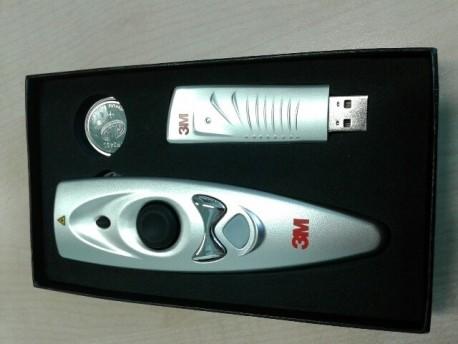3M Puntero laser y mando a distancia