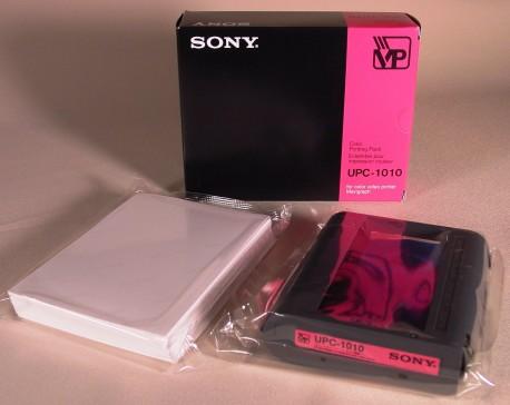 Sony papel fotográfico térmico UPC-1000/1010 A6