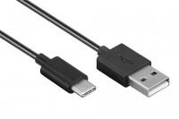 Goobay cable USB A - USB C 2 metros macho-macho