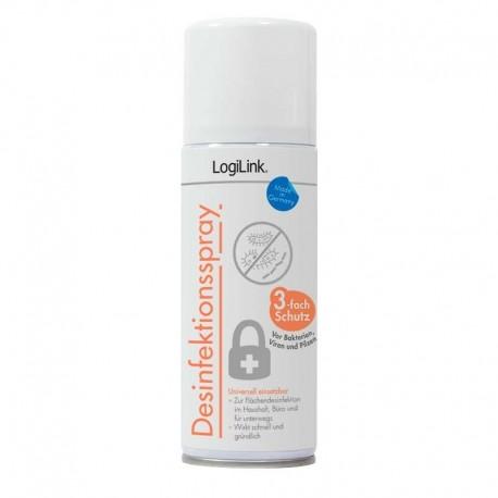 Logilink spray desinfectante RP0018 superficies