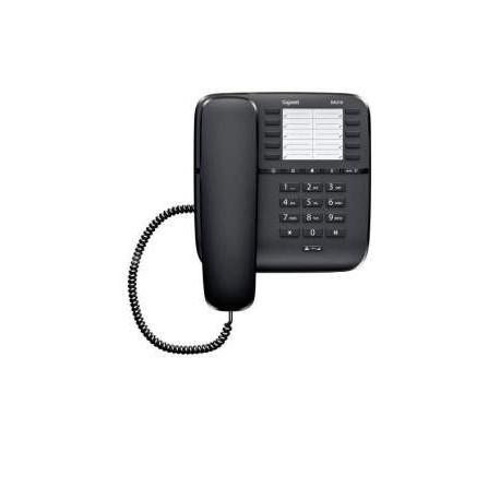 Gigaset Teléfono estándar DA510 - Negro con cable