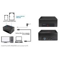 Logilink Docking Station USB 3.2 Gen1, 2 bahías