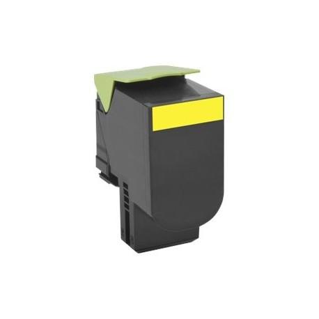 Lexmark tóner amarillo 70C2HY0 (702HY) - 3000 p