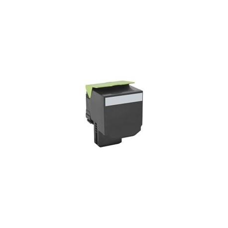 Lexmark toner negro 80C2XK0 8.000 páginas 802XK CX