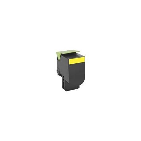 Lexmark toner amarillo 80C2XY0 4.000 páginas 802XY
