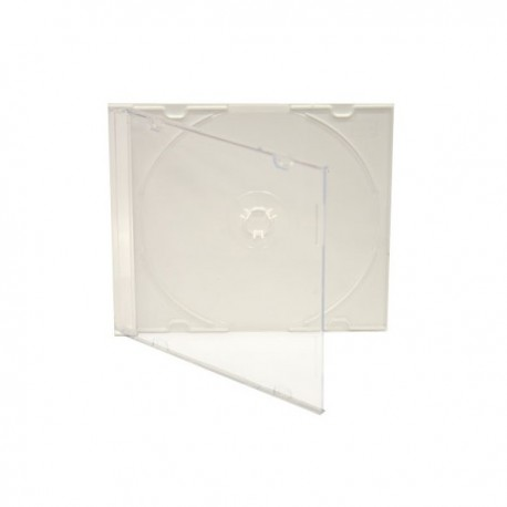 Wings caja CD-R x 1 lomo 5mm slim trans-transparen