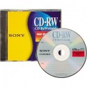 Sony CD-RW 700Mb 80 minutos 10 unidades