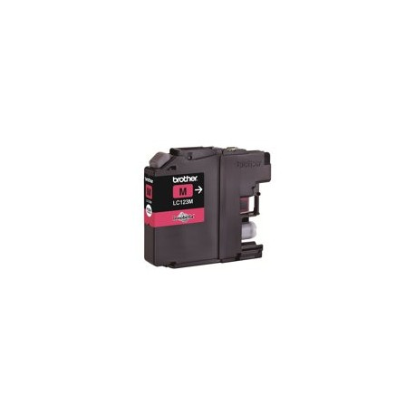 Brother cartucho de tinta LC123MBP magenta