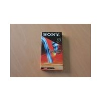Sony cinta video VHS E-30 30 minutos Premium