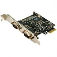 Logilink tarjeta 2 puertos serie RS-232 PCI Expres