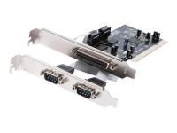 Approx! Tarjeta PCI paralelo x 1+ serie x 2 puerto
