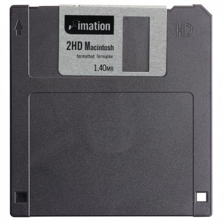 "3M diskette 3.5"" 2HD 1,44Mb format. IBM 10uni"