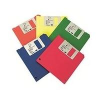 """3M diskette 3,5"""" dosble cara DS-HD naranja"""
