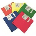 "3M diskette 3,5"" dosble cara DS-HD amarillo"