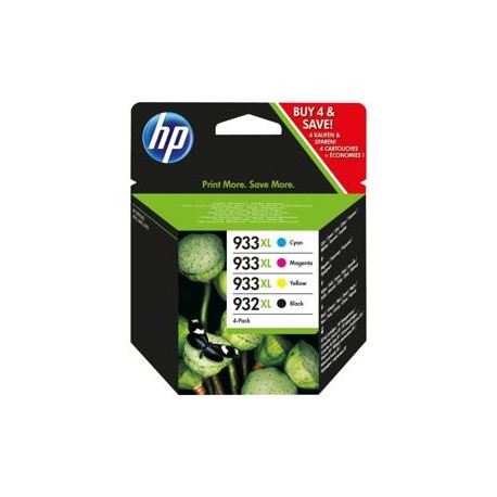 HP cartucho de tinta multipack 932+933XL C2P42AE